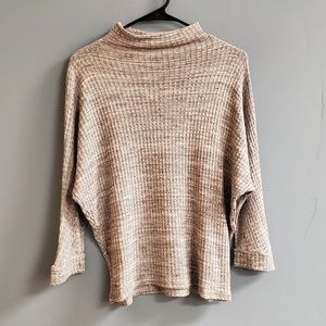 Anthropologie Waffle Knit Top